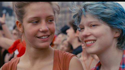 blå är den varmaste färgen kapitel 1 & 2, Folkets bio, recension, om filmer