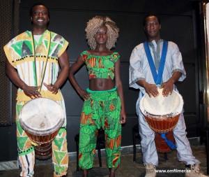 sorel bangura & jack syalla with african drums, mandela vägen till frihet, scanbox, zapevent, zap pr, patrik laijronsdotter, foto, om filmer, camilla käller, film, bio,