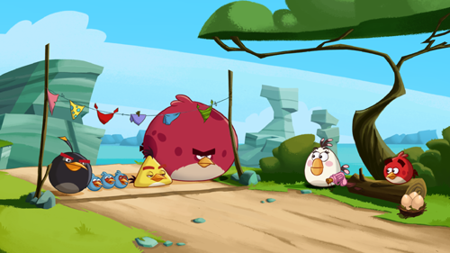 Angry Birds Toons, Sony Pictures 2013