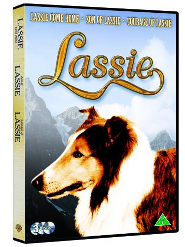 Lassie Box- 3 discs. Warner Bros