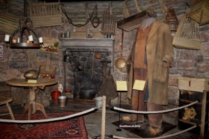 Hagris stuga. Harry Potter The Exhibition. Foto Patrik Laijronsdotter 2014