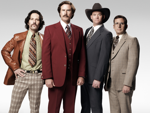 Anchorman 2 The legend continues. 2014 Paramount Pictures