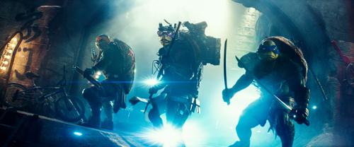 Teenage mutant ninja turtles. United international pictures