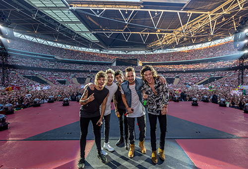 One Direction Where We Are. Sony Music 2014