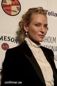 Uma Thruman. Stockholm Filmfestival 2014