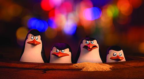 Pingvinerna från Madagaskar. 20th century Fox 2014
