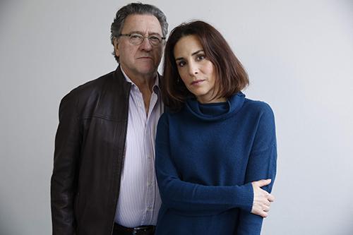 Tommy Körberg och Alexandra Rapaport. Gåsmamman. Cmore