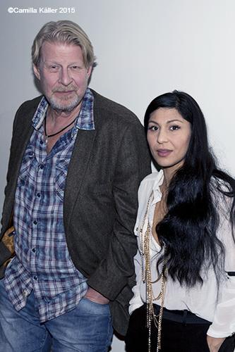 Rolf Lassgård och Bahar Pars 2015