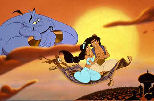 Aladdin, Walt Disney