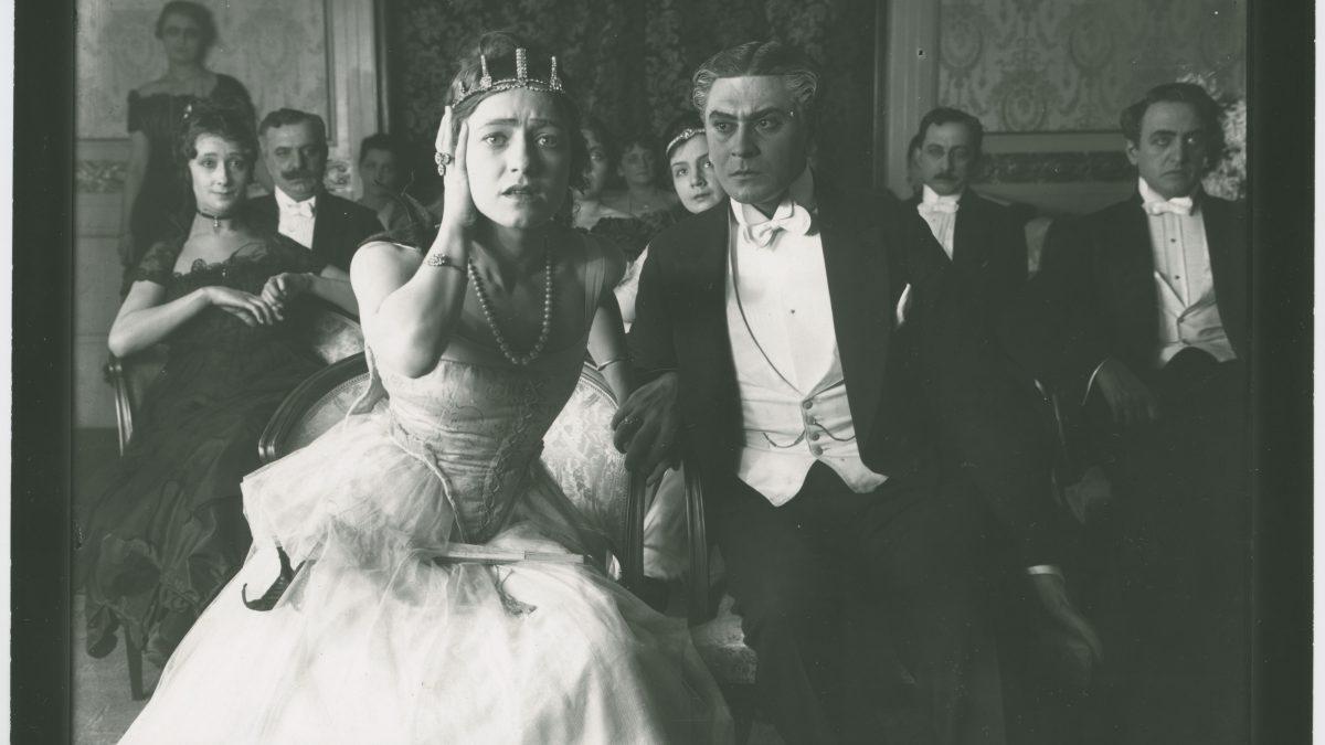 Balettprimadonnan 1916. Foto Svenska Filminstitutets arkiv